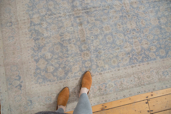 Distressed Oushak Carpet / Item ee001846 image 2