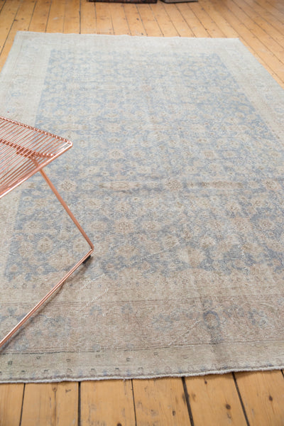 Distressed Oushak Carpet / Item ee001846 image 6
