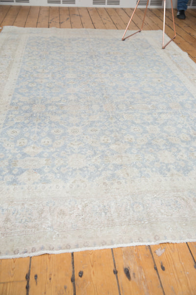 Distressed Oushak Carpet / Item ee001846 image 12