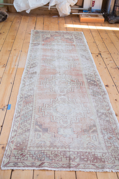 3x9 Distressed Oushak Runner - Old New House
