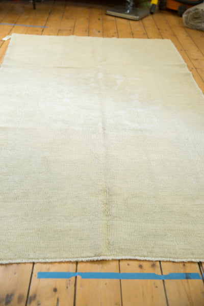4.5x8 Distressed Oushak Rug