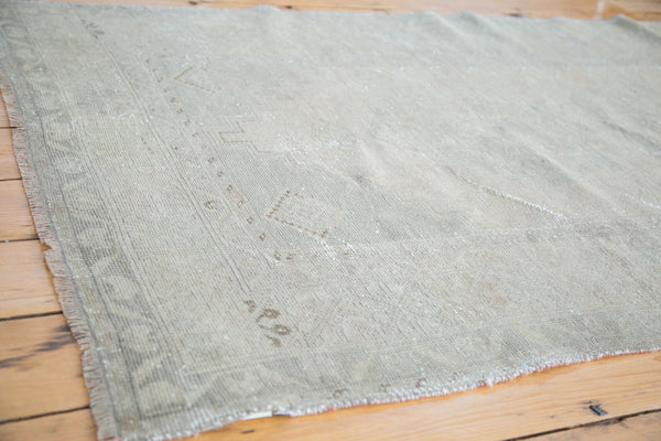 3.5x6.5 Distressed Oushak Rug - Old New House