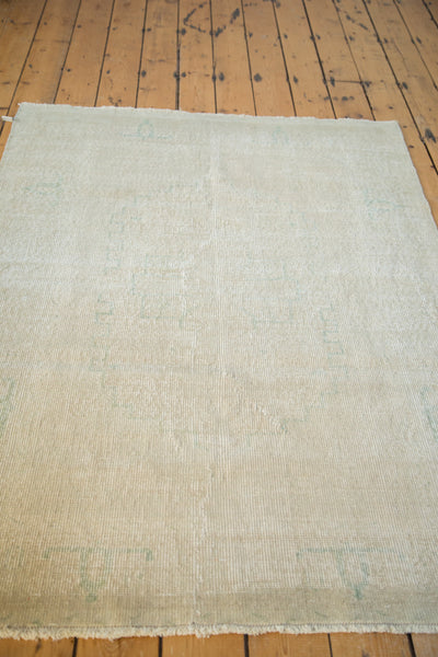 Distressed Oushak Rug / Item ee001862 image 3