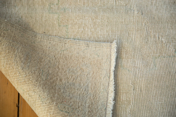 Distressed Oushak Rug / Item ee001862 image 4