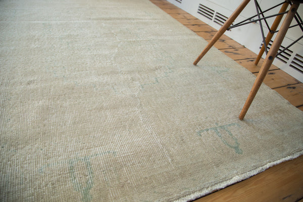 Distressed Oushak Rug / Item ee001862 image 6