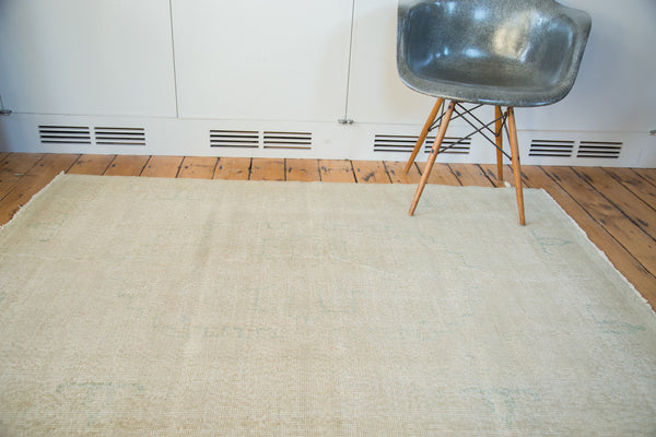 Distressed Oushak Rug / Item ee001862 image 7