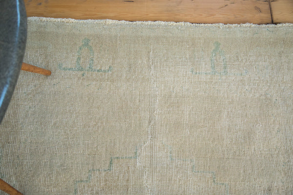 Distressed Oushak Rug / Item ee001862 image 8