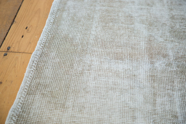 3x6.5 Distressed Oushak Rug - Old New House