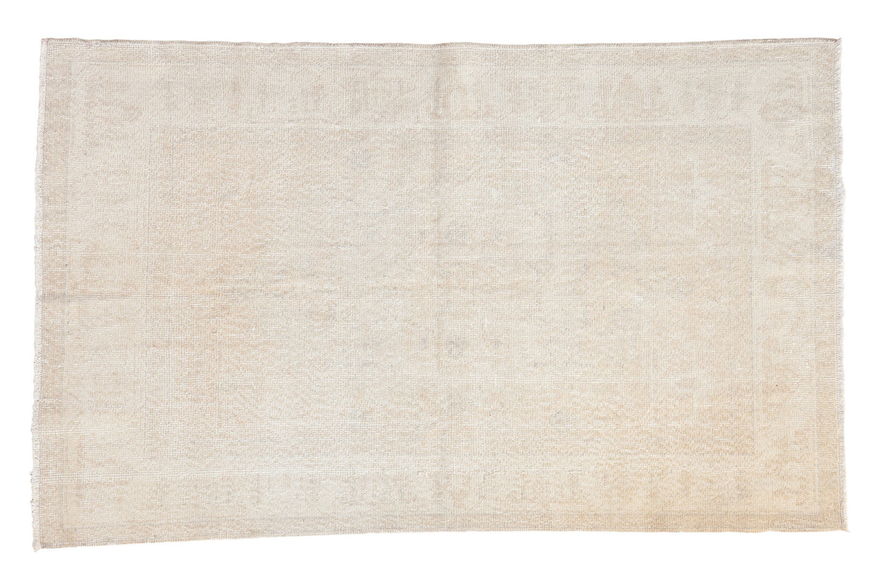 4x6.5 Distressed Oushak Rug // ONH Item ee001873