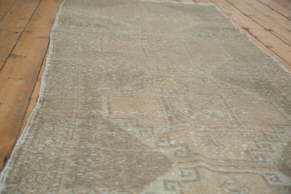 3.5x10.5 Vintage Oushak Rug Runner - Old New House