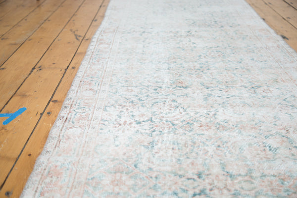3x11 Distressed Oushak Rug Runner - Old New House