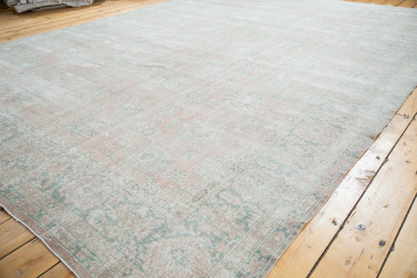 9x12 Distressed Oushak Carpet - Old New House