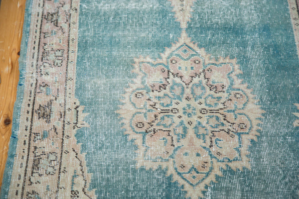 3x10.5 Distressed Oushak Rug Runner - Old New House