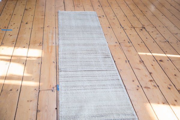 2x8.5 Distressed Oushak Runner - Old New House