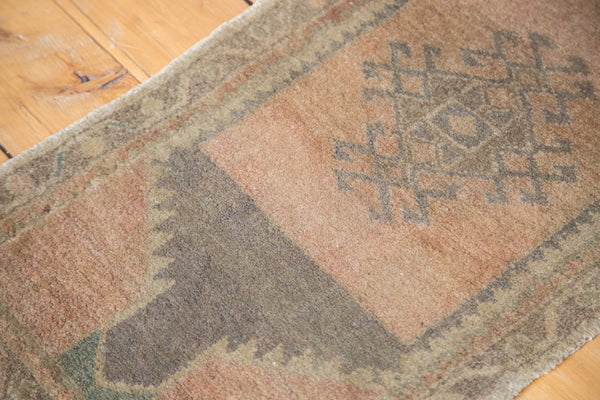 1.5x3.5 Vintage Oushak Rug Mat - Old New House