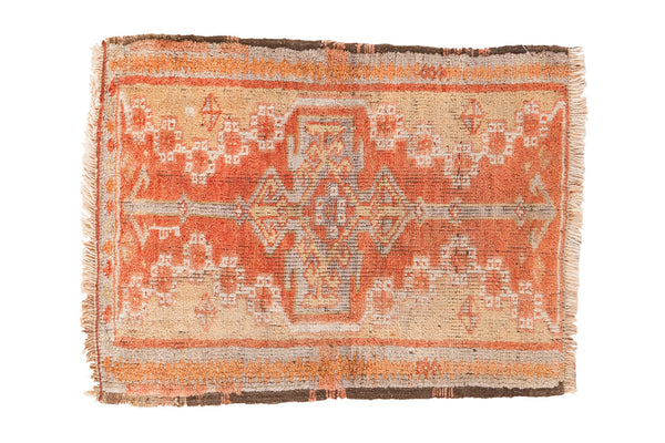 2x2.5 Vintage Oushak Rug Mat - Old New House