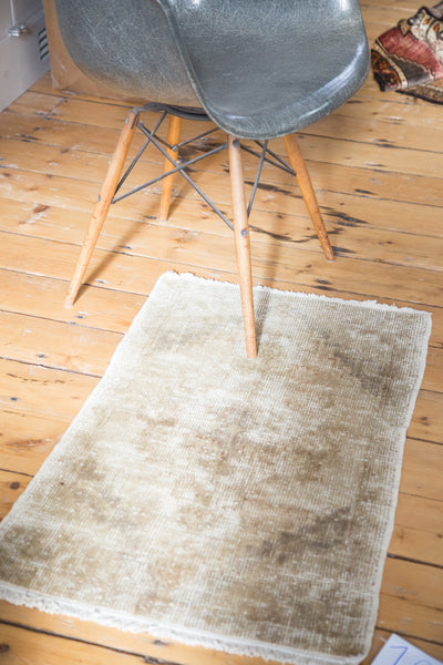 2x3 Distressed Oushak Rug Mat - Old New House