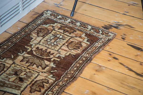1.5x3 Vintage Oushak Rug Mat - Old New House