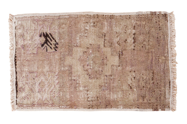 1.5x2.5 Distressed Oushak Rug Mat - Old New House