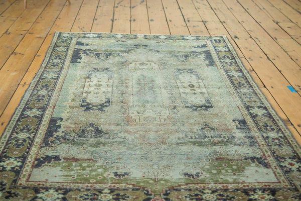 Distressed Oushak Rug / Item ee001934 image 4