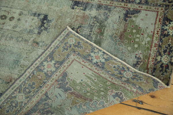 Distressed Oushak Rug / Item ee001934 image 5