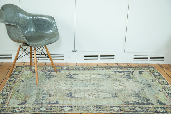 Distressed Oushak Rug / Item ee001934 image 2