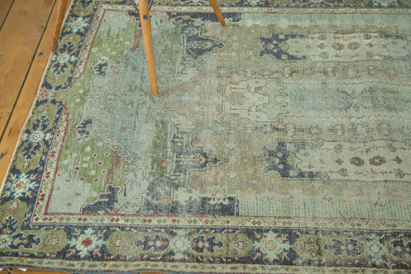 Distressed Oushak Rug / Item ee001934 image 6