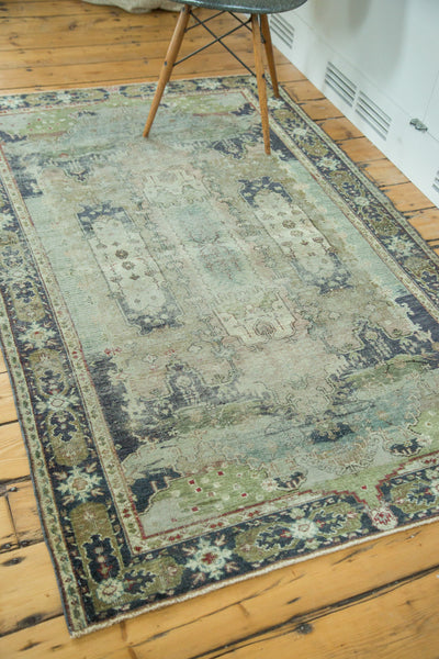 Distressed Oushak Rug / Item ee001934 image 7