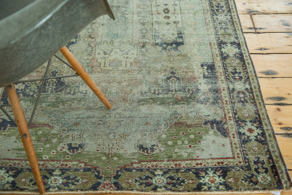 Distressed Oushak Rug / Item ee001934 image 3
