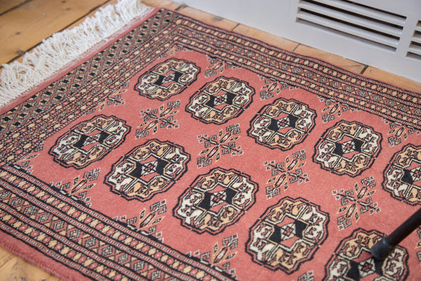 2x3 Vintage Bokhara Rug Mat - Old New House