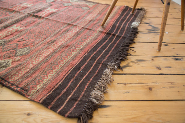 4x5 Vintage Jijim Square Rug - Old New House