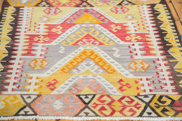 2.5x3 Vintage Kilim Square Rug Mat - Old New House