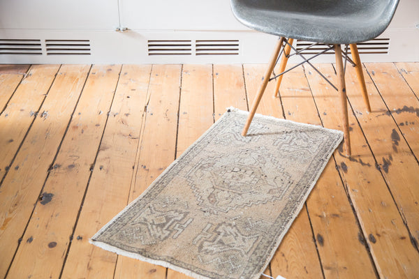 1.5x3 Distressed Oushak Rug Mat - Old New House