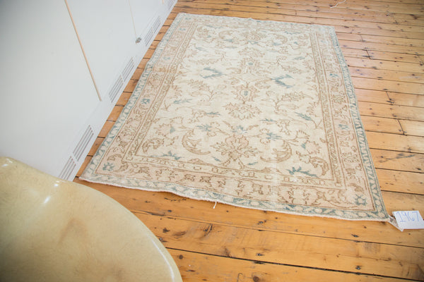 5x6.5 Vintage Oushak Rug - Old New House