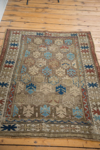 3x5 Antique Caucasian Rug - Old New House