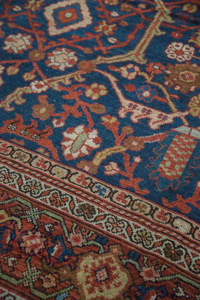 8.5x13 Antique Mahal Carpet - Old New House