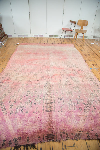 6.5x11 Vintage Moroccan Carpet - Old New House