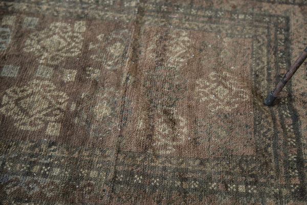 2.5x3 Distressed Oushak Square Rug Mat - Old New House