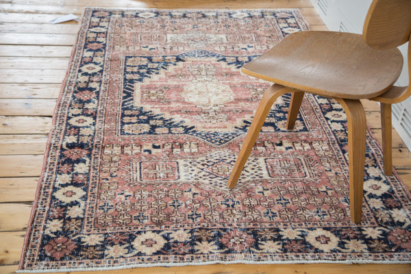 4x7 Distressed Oushak Area Rug - Old New House
