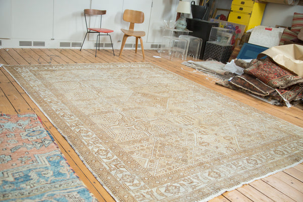 8x10.5 Distressed Mahal Carpet - Old New House