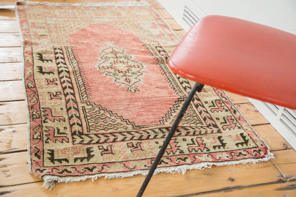 Distressed Oushak Rug / Item ee002019 image 4