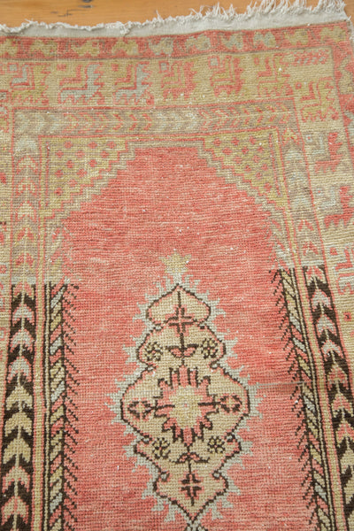 Distressed Oushak Rug / Item ee002019 image 6