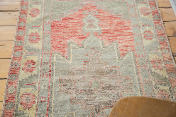 3x5.5 Distressed Oushak Rug - Old New House
