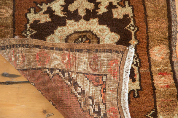 2x2.5 Vintage Oushak Square Rug Mat - Old New House