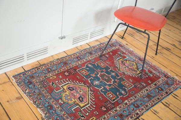 Distressed Heriz Rug / Item ee002054 image 2