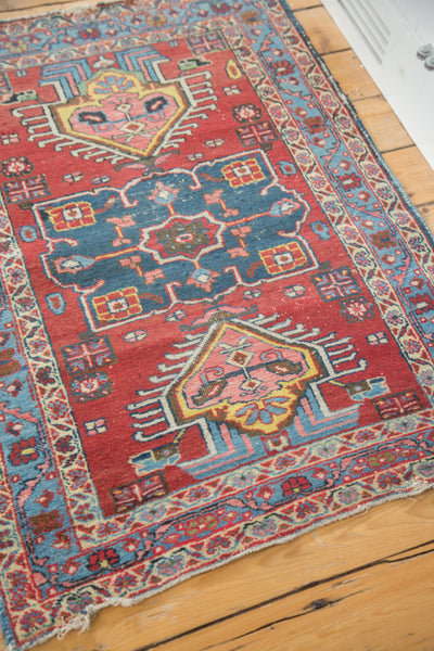 Distressed Heriz Rug / Item ee002054 image 7