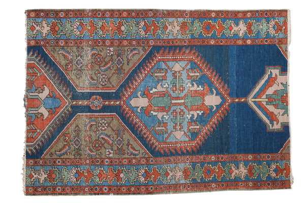 3.5x5 Distressed Antique Northwest Persian Rug - Old New House