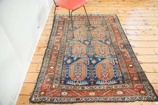 4x5.5 Vintage Malayer Rug - Old New House