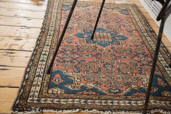 2.5x4 Distressed Malayer Rug - Old New House