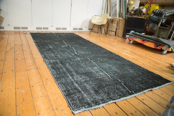 5x12 Vintage Overdyed Gallery Rug Runner - Old New House